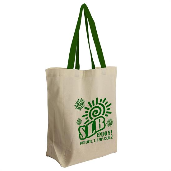 B1014CT - The Brunch Tote - Cotton Grocery Tote