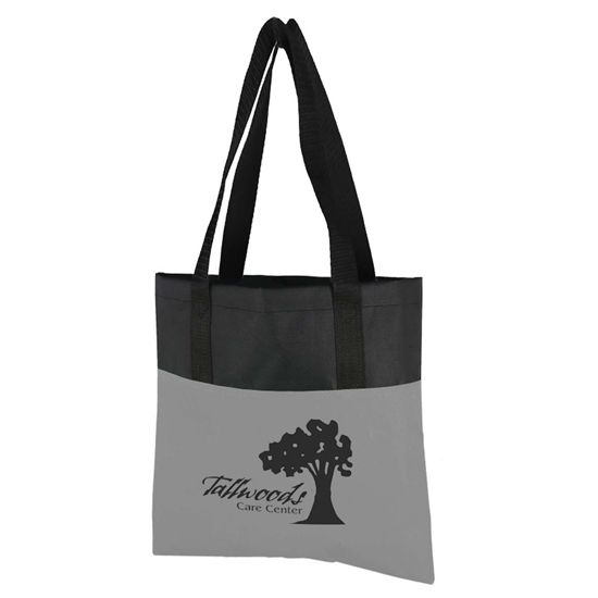 "B6001 - The Day Tote - 15"" x 15"" 600D Tote Bag"