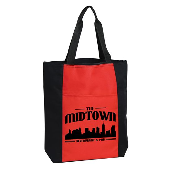 B6004Z - Madison Avenue Tote - 600D polyester