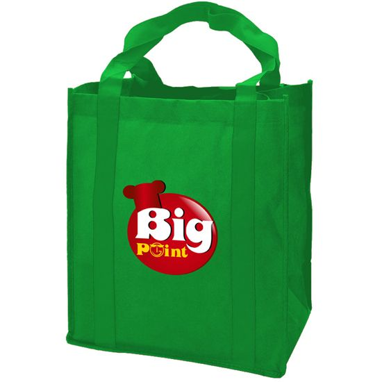 DPB128 - The Grocer - Super Saver Grocery Tote-DP