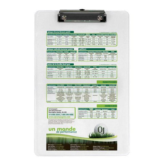 DPCB914 - Low Profile Clipboard - Digital Print