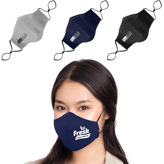 RFM3L - 3 Ply Cotton Fitted Mask + Filter