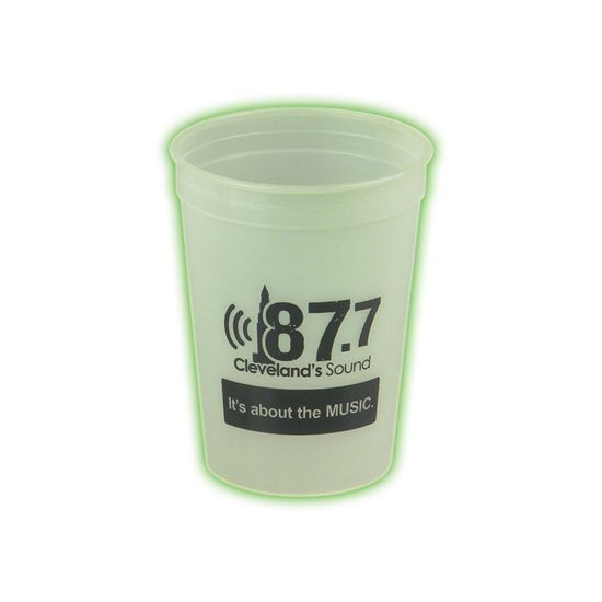 SC12G - Glow In The Dark 12 oz. Stadium Cup