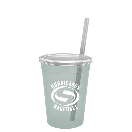 SC12T - Cups-On-The-Go - 12oz. Trans. Stadium Cup