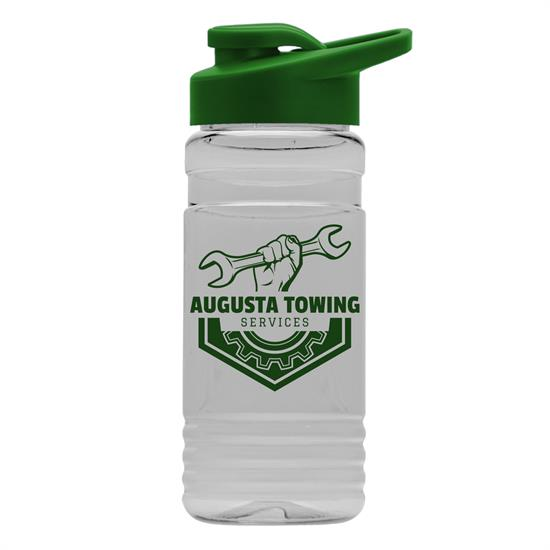 TB20D - 20 oz. Clear Sports Bottle with Drink-Thru Lid