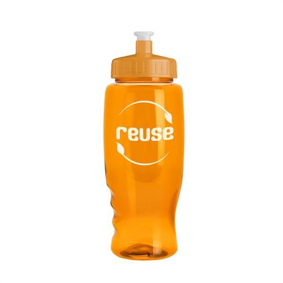 TB27 - Poly-Pure - 27 oz. Transparent Bottle