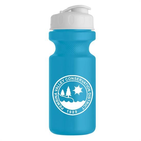 WB21F - 22 oz. Eco-Cycle Bottle with Flip Top Lid