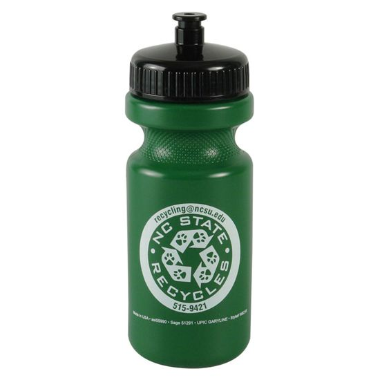 WB21 - The Eco-Cyclist - 22 oz. Sports Bottle