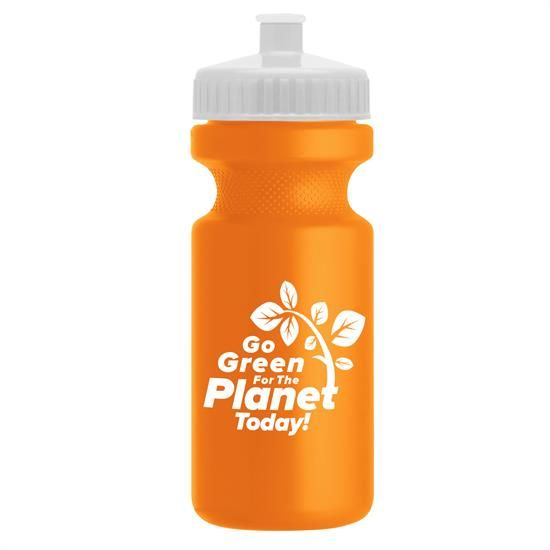 WB21R - The Eco-Cyclist - 22 oz. Eco-Cycle Bottle
