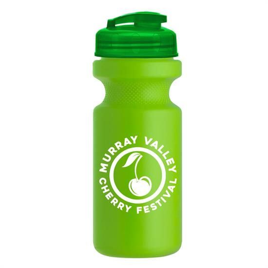 WB21U - 22 oz. Eco-Cycle Bottle with USA Flip Lid