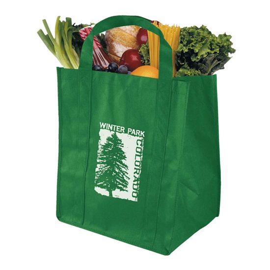 B128 - The Grocer - Super Saver Grocery Tote