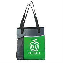 "Broadway Tote - 15"" x 15"" - Mesh Bottle Holder"