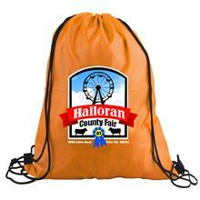 The Junior - 210D Polyester Drawstring - Digital