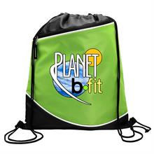 Digital Campus Pack 210D Drawstring Zipper Pocket