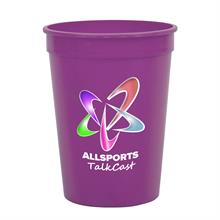 12 oz Stadium Cup - Digital Imprint