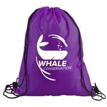 The Junior - 210D Polyester Drawstring Backpack
