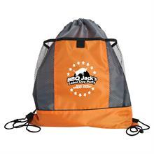The Sportster - Drawstring Bags with Mesh Pockets