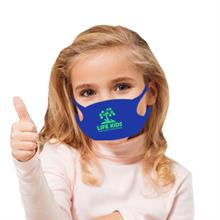 Youth Size Stretch Fit Promo Face Mask