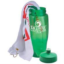 Golf Towel in a Bottle