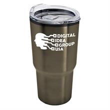 The Aurora - 28 oz. Stainless Steel Auto Tumbler