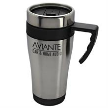 The Passenger - 14 Oz. Stainless Steel Auto Mug with Handle