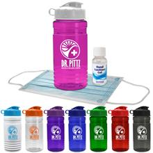 Sport Bottle with Mask and Hand Sanitizer