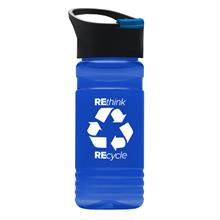 20 oz. Recycled PETE Bottle With Pop Up Sip Lid