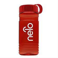 20 oz. Recycled PETE Bottle With Tethered Lid
