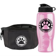 Thirsty Dog - Sports Bottle & Folding Dog Bowl