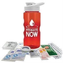 22 oz Tritan Bottle Survival Kit  Drink thru Lid