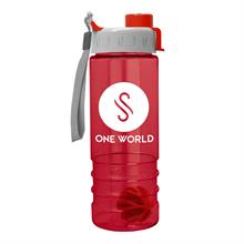 24 oz Tritan Salute Shaker Bottle - Quick Snap  Lid