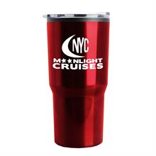 The Carova - 18 oz. Stainless Steel Shell Auto Tumbler